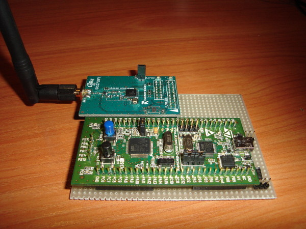 Interfacing the STM32VLDISCOVERY with Semtech's SX1272RF1BAS module
