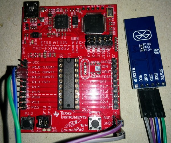 MSP430-Voice-Control