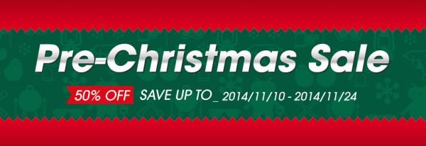 Pre-Christmas-Sale