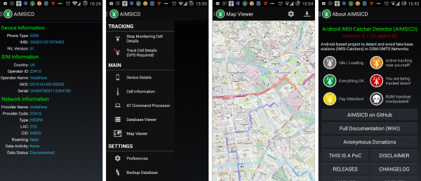 Open source Android IMSI-Catcher Detector – Dangerous Prototypes