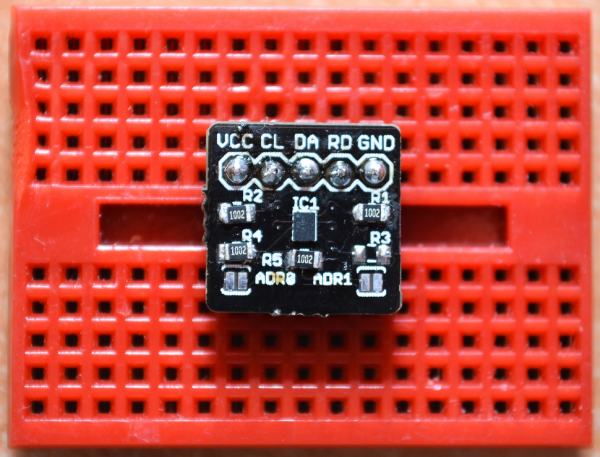 DirtyPCBs: HDC1000 temperature and humidity sensor breakout, with Arduino library