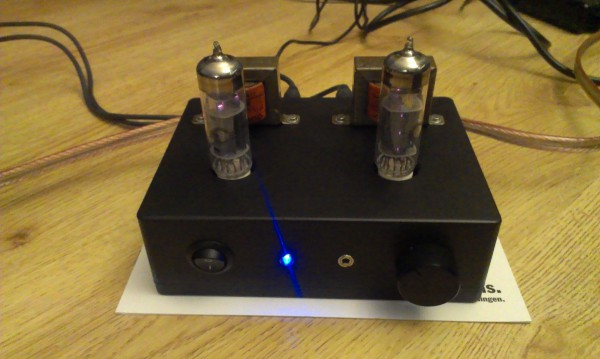 Mini stereo SE tube amp
