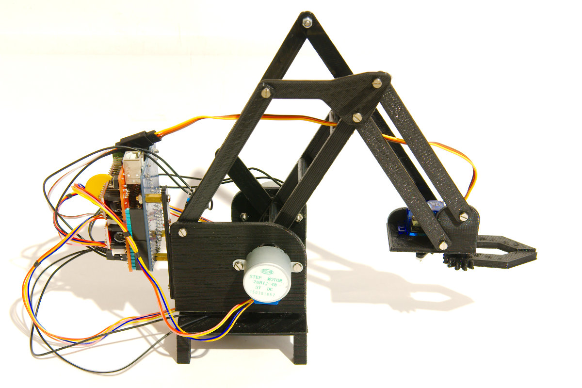 Arduino Blog Build your own robotic arm out of cardboard