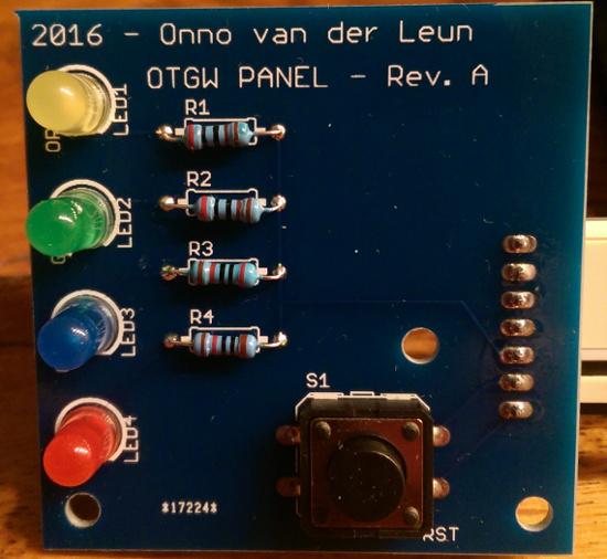 OTGW-LED Panel