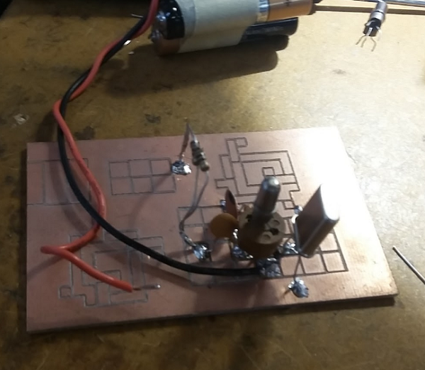 pics-Solid State QRP Rig