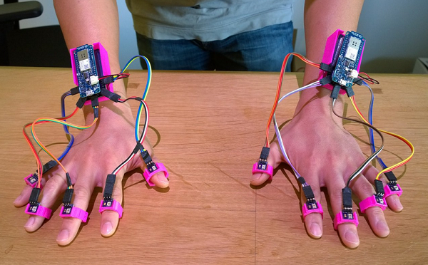 Millimeter-level finger tracking