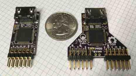 BML HDMIvideoforFPGAs over PMOD