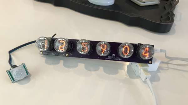 ETA Nixie Tube Clock-600