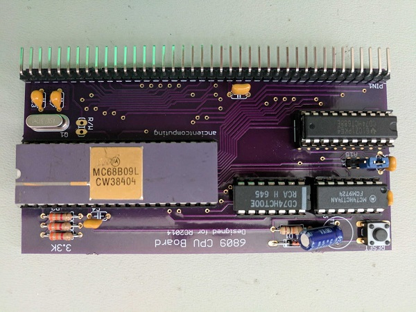 6809 CPU board for the RC2014 « Dangerous Prototypes