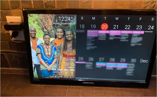 DakBoard Family Calendar