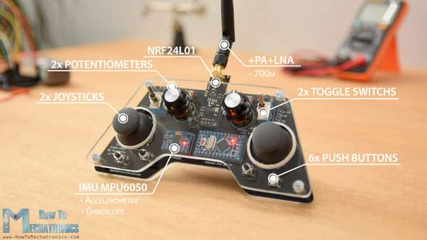Arduino-RC-Controller-with-14-channels-and-MPU6050-Accelerometer-and-Gyro-600