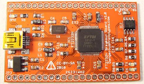 FT2232 breakout board - DP