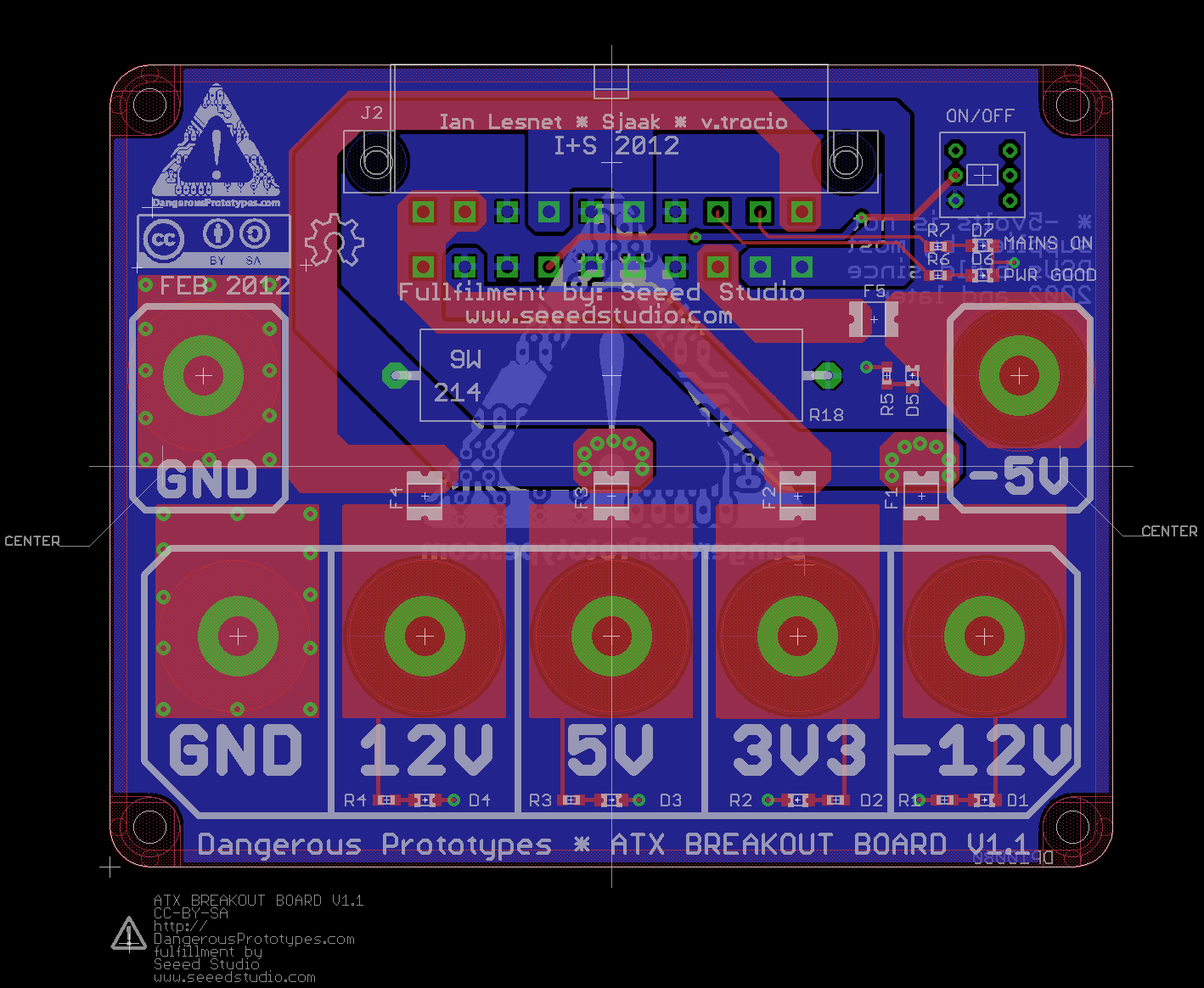 New Prototype Atx Breakout Board Dangerous Prototypes Rocker Switch Wiring How To Make A Bench Power Supply From An Old Click For Full Size Placement Image