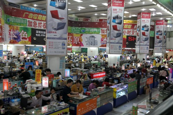 Huaqiangbei Market Shenzhen, China: Fastest Place To Produce Mobile Phone In The World
