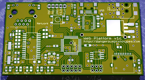 Web platform hardware design - DP
