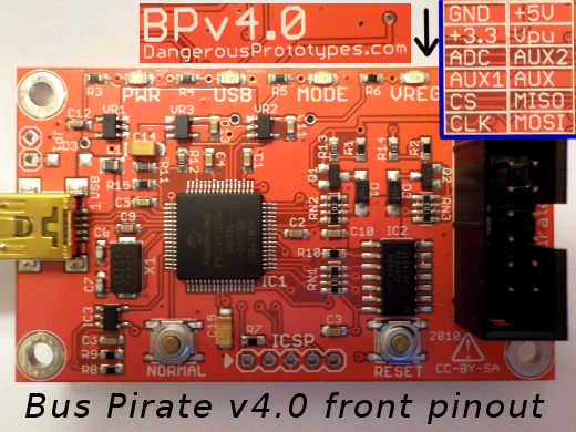 Flashing a BIOS chip with Bus Pirate - DP