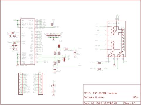 enc424j600 breakout board dp