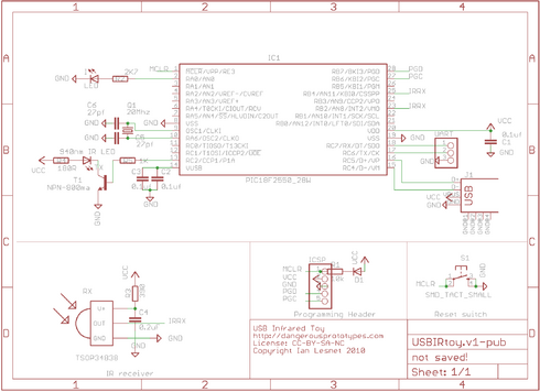 USB Infrared Toy schematic and partlist - DP on usb symbol, usb human interface device class, usb repair, usb costume, usb video device class, usb infographic, usb cd drive, usb mass-storage device class, usb sign, usb on-the-go, memory card reader, usb hub, powered usb, usb transformer, usb meme, usb credit card, usb relay, usb zip drive, windows to go, usb disk drive, usb implementers forum, usb flash drive, usb drawing, host controller interface, card reader, usb hardware, usb serial adapter, usb for ipad, usb hard drive, usb parts, wireless usb, usb layout, usb chart,