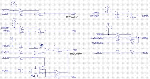 Bus Blaster buffer logic - DP